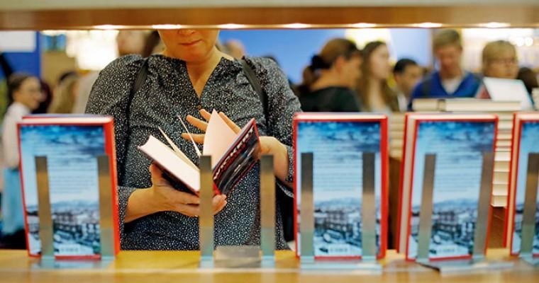 Bücher entdecken auf der Frankfurter Buchmesse