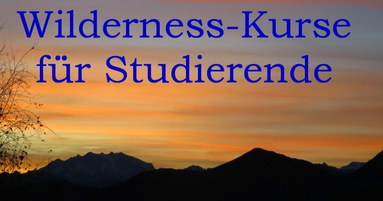 Wilderness-Kurse für Studierende