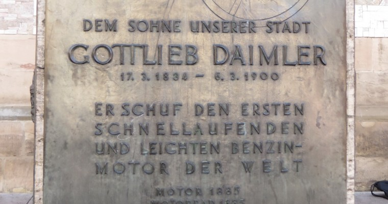 Berühmte Absolvent/innen – Heute: Gottlieb Daimler